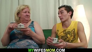 boy fucks huge boobs mother-in-law