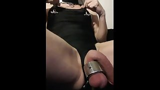 nipple stretching painslut fucking its peehole