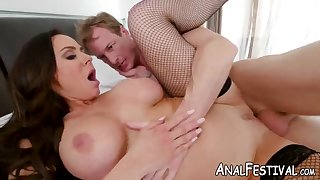 fat butt cougar kendra lust has her wet pussy pounded