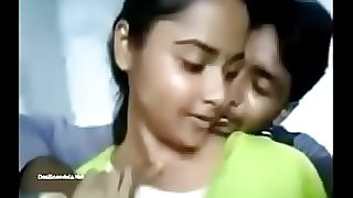Indian Girl Rajini Allowed Boobs Press Video