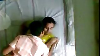 Indian Kerala aunty and spouses younger brother hidden camera